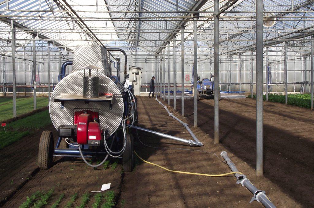 Hochleistungs Dampfkessel der Firma MSD GmbH, Durbach mit Dampfzuführsystem