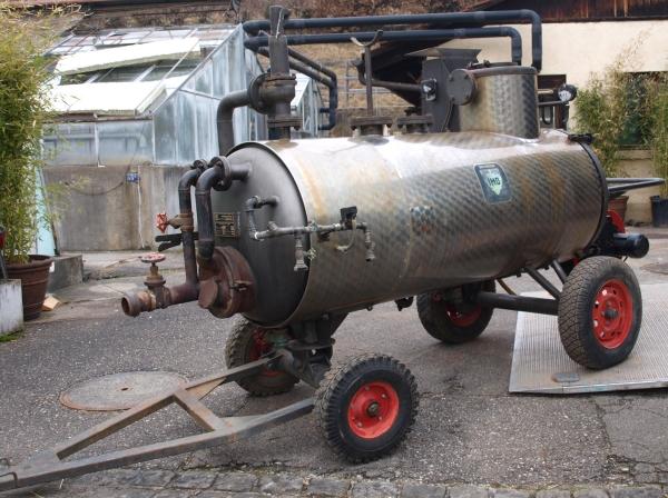 SE 500 - Dampfkessel der Firma Möschle/MSD