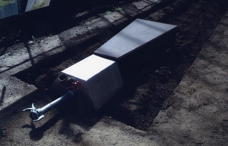 Dampfinjektor für die Foliendämpfung